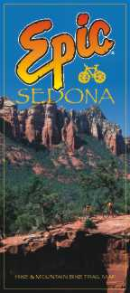 Epic Sedona Hike & Bike Trail Map